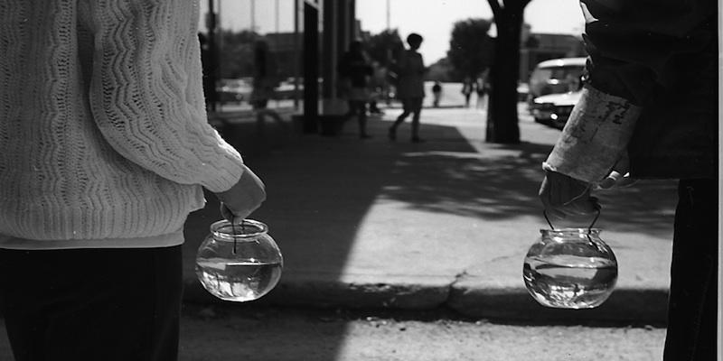 vivian_maier_wilmette_il_children_holding_fish_bowls_1968